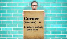 Dirty dancing Noboy put baby in the corner dictionary Art Pint - Wall Art Print Poster Pick A Size - Typography Art Geekery